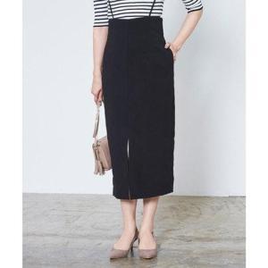 ユアーズ ur's フロントスリットサロペットスカート (ブラック)|ブランド公式 LOCOMALL ロコモール