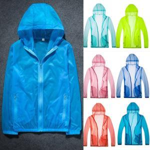 ジャケット UVカット 紫外線防止 ジップアップパーカー メンズ 大きいサイズ おしゃれ ブルゾン 大きいサイズ 白|locoprime