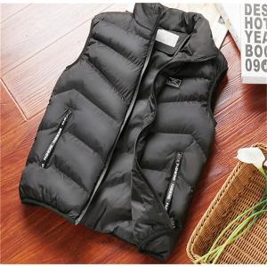 中綿ベスト ダウンベスト メンズ ファッション ミリタリー ブルゾン ジャンバー アウター 防寒 あったか|locoprime
