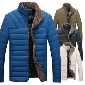 ダウンジャケット 中綿ジャケット 冬コート メンズ アウトドア 防寒着 保温 防風 軽い 冬服 2019 秋冬 メンズファッション|locoprime
