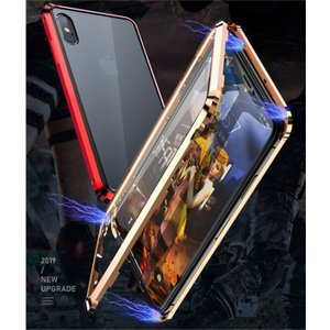 iPhone11 pro max x xs max XR ケース クリア 透明 iPhone 7 plus 8 plus 両面ガラス スマホ クリア 携帯 iPhoneケース iPhone7 ケース 耐衝撃 全面保護|locoprime