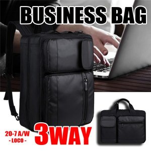 ビジネスバッグ 3WAY ビジネスリュック メンズバック 防...