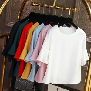 Tシャツ レディース 半袖 ゆったり カジュアル 大きいサイズ 無地 丸首 クルーネック ビッグT 20代 30代 40代 大人 ファッション|locoprime
