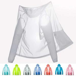 速乾 UVジャケット メンズ UVカット 長袖 ドライ ジップジャケット UVカット 紫外線防止 スポーツ 送料無料|locoprime