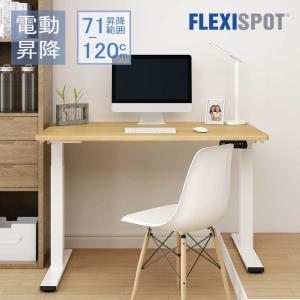 Flexispot 電動式 スタンディングデスク 昇降テーブル昇降デスクパソコンデスク高さ調節PCデ...