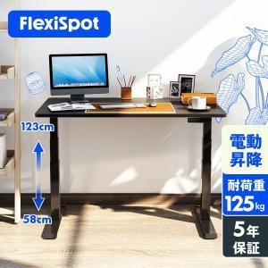 Flexispot 電動式スタンディングデスク 昇降デスク パソコンデスク オフィスデスク 高さ調節...