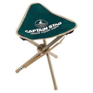 CAPTAIN STAG キャプテンスタッグ CS 三脚チェア(グリーン)M3876 M3876