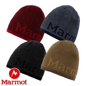 マーモット(Marmot) ロゴ ニット キャップ (帽子 ビーニー) TOAOJC51|lodge-premiumshop