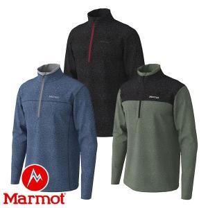 マーモット(Marmot) クライムウール ストレッチ ロングスリーブ ジップ (メンズ/長袖 ジップシャツ) TOMOJB66 lodge-premiumshop