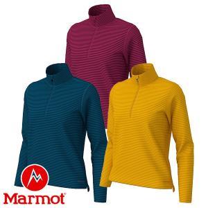 マーモット(Marmot) W's ヒートナビ ボーダー ロングスリーブ ジップ (レディース/長袖 ジップシャツ) TOWOJB68 lodge-premiumshop