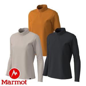 マーモット(Marmot) W's ヒートナビ ストリート ロングスリーブ モックネック (レディース/長袖 ネックシャツ) TOWOJB69|lodge-premiumshop