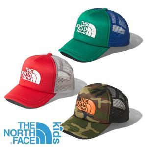 ノースフェイス(THE NORTH FACE) キッズ ロゴ メッシュ キャップ (キッズ 子供用/帽子 キャップ) NNJ01911|lodge-premiumshop
