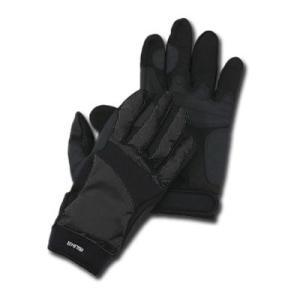手の平には吸汗性の良い人工皮革を、甲側には耐水性と撥水性に富み透湿性も持ち合わせたウェザ−テックを使...