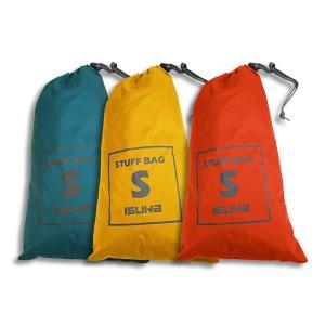 防水コ−ティング加工されたナイロン生地を使用したシンプルなスタッフバッグです。 登山やツーリングでの...