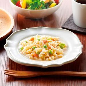 お湯を注いで60秒で本格的な味わいの濃厚パスタが出来上がります。枝豆とサーモンがたっぷり入った食感と...