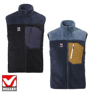 ミレー(MILLET) 8 SEVEN WINDSHEEP VEST M (メンズ/ジャケット ベスト フリース) MIV7988|lodge-premiumshop