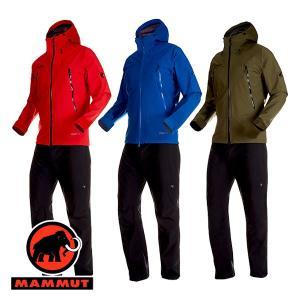 マムート(MAMMUT) CLIMATE Rain -Suit AF Men (メンズ/ジャケット パンツ レインウェア) 1010-26551|lodge-premiumshop