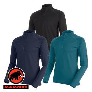 マムート(MAMMUT) PERFORMANCE Thermal Zip long Sleeve Men (メンズ/長袖 ジップシャツ) 1016-0|lodge-premiumshop