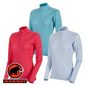特価 マムート(MAMMUT) Performance Dry Zip Longsleeve Women (レディース/長袖 ジップシャツ) 10 lodge-premiumshop