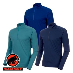 特価 マムート(MAMMUT) Performance Dry Zip Longsleeve Men (メンズ/長袖 ジップシャツ) 1016-0|lodge-premiumshop