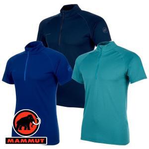 特価 マムート(MAMMUT) Performance Dry Zip T-Shirt Men (メンズ/半袖 ジップシャツ) 1017-0044 lodge-premiumshop