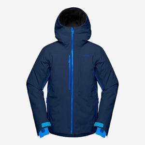 ノローナ ロフォテン ゴアテックスインサレーテッドジャケット 男性用 NORRONA Lofoten Gore-Tex insulated Jacket indigo night|lodge