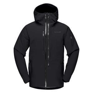 ノローナ ロフォテン ゴアテックス プロ プラス ジャケット Norrona lofoten Gore-Tex Pro Plus Jacket MENS Caviar|lodge