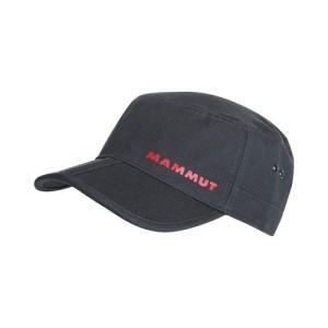 MAMMUT 【LHASA CAP】 マムート ラサキャップ black レターパックライト対応商品 lodge