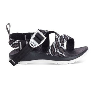 CHACO 【Kids Z1 ECOTREAD】 チャコ Z/1 エコトレッド STATIC BLACK|lodge