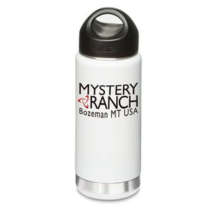 MYSTERY RANCH 【CLASSIC LOGO KK BOTTLE WHITE】 ミステリーランチ クラシックロゴKKボトル|lodge