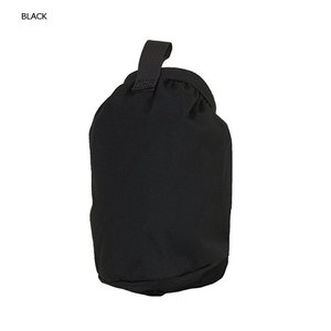 MYSTERY RANCH 【BOTTLE POCKET BLACK】 ミステリーランチ ボトルポケット ブラック レターパックライト対応商品|lodge