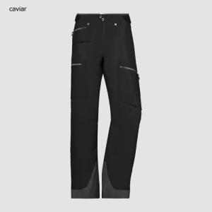 ノローナ リンゲン ゴアテックスプロパンツ 男性用 NORRONA lyngen Gore-Tex Pro Pants MENS Caviar|lodge