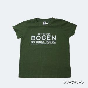 BOGEN 【SHOP TEE】 ボーゲン ショップティ 2COLOR レターパックライト対応商品|lodge