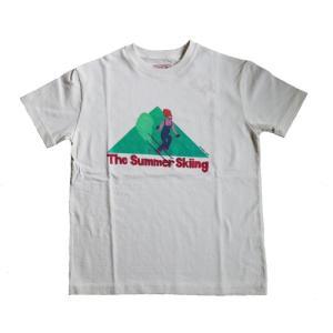 BOGEN 【THE SUMMER SKIING T】 ボーゲン ザサマースキーイングティ レターパックライト対応商品|lodge