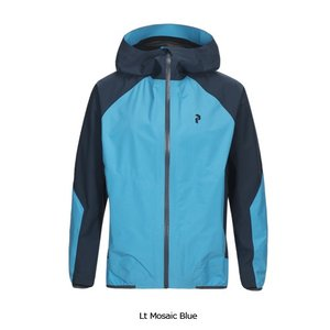PEAK PERFORMANCE 【Pac Jacket 2019】 ピークパフォーマンス パックジャケット [メンズ] Lt Mosaic Blue|lodge