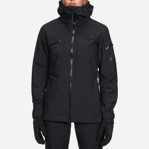 PEAK PERFORMANCE 【W Alpine Jacket Black 2018-19】 ピークパフォーマンス W アルパイン ジャケット [レディス]|lodge