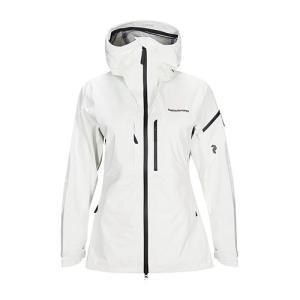 ピークパフォーマンス アルパインジャケット 女性用 PEAK PERFORMANCE W Alpine Jacket 099 Off White 2019-20 lodge