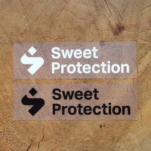スゥイートプロテクション ロゴステッカー スモール SWEET PROTECTION LOGO STICKER Small|lodge