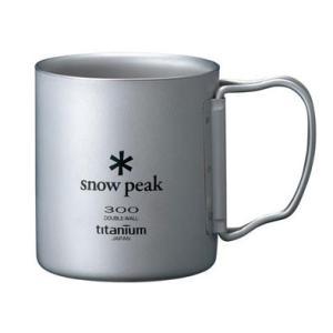SNOW PEAK 【チタンダブルマグ 300 フォールディングハンドル】 スノーピーク|lodge