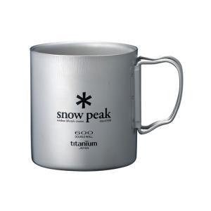 SNOW PEAK 【チタンダブルマグ 600】 スノーピーク|lodge