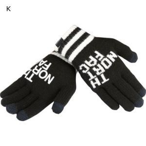 THE NORTH FACE 【Big Logo E-Knit Glove】 ノースフェイス ビッグロゴイーニットグローブ レターパックライト対応商品 スマホ対応 3COLOR|lodge