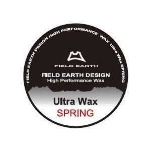 フィールドアース ウルトラワックススプリング FIELD EARTH Ultra Wax SPRING レターパックライト対応商品|lodge
