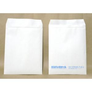 和泉 エコパックメール#6 はがき用 内寸120mm×215mm 白(エアキャップ袋 エアキャップ袋 封筒 緩衝材 梱包 養生袋) FS_708-7 H2|logi-mart