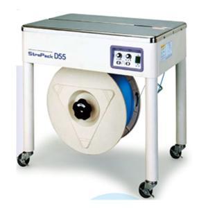 ストラパック 半自動梱包機 D55 代引不可 (梱包機 PPバンド 結束機 半自動 )|logi-mart