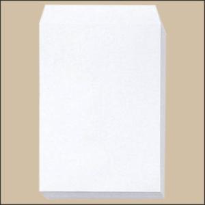 イムラ 封筒 角0 287×382 テープ付き 白 1ケース500枚入り (クラフト 封筒 宅配 クラフト封筒)|logi-mart