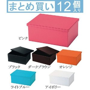 収納ボックス 12点セット カラーボックスケース ボックス 収納トランク 小物入れ 小物収納 収納box 収納ケース 収納箱 BOX 入れ物 衣類収納 おもちゃ箱