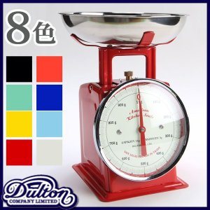 DULTON ダルトンアメリカンキッチンスケール AMERICAN KITCHEN SCALE キッチンスケール はかり|計り|量り|軽量器|クッキングスケール 製菓道具|logical-japan
