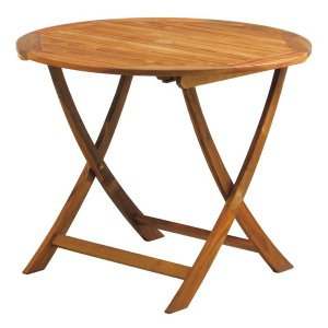 テーブル ガーデンテーブル カフェテーブル 丸テーブル 折りたたみテーブル 折り畳みテーブル 木製テーブル おりたたみテーブル logical-japan