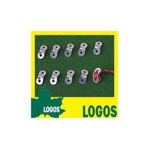 ロゴス LOGOSコードスライダー(10pcs) テントアク...