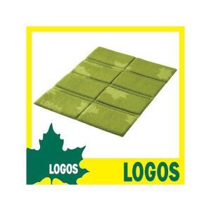 座布団 ロゴス LOGOS 8つ折りフリース座布団 クッション マット 折りたたみ折りたたみ 折り畳み 携帯 小型 ミニ フリース コンパクト ピクニック logical-japan